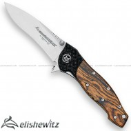 Fox Invader Folding Knife Bocote 460B