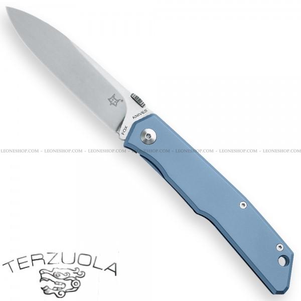Coltello Fox Terzuola Titanium Blu FX-525TIBL
