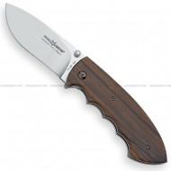 Fox Folding Hunting Knife Ziricote FX-BR322
