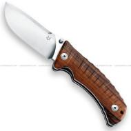 Fox Pro Hunter Folder Knife D-Wood FX-130DW