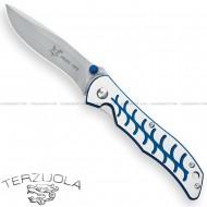 Fox Terzuola Folding Knife T6 Blue T1/2BLUE